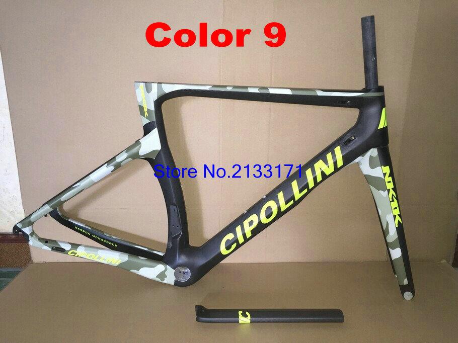 9 Cipollini NK1K 3K Di2 Carbon Bike Frame