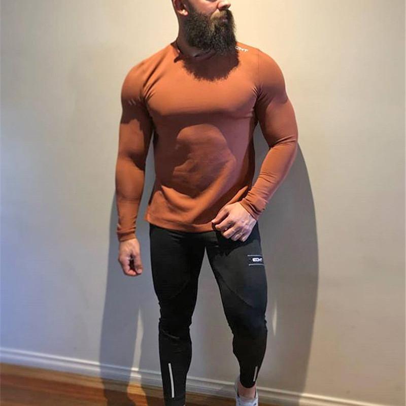 Tight Men Pants Fitness Gym Sweatpants (9)