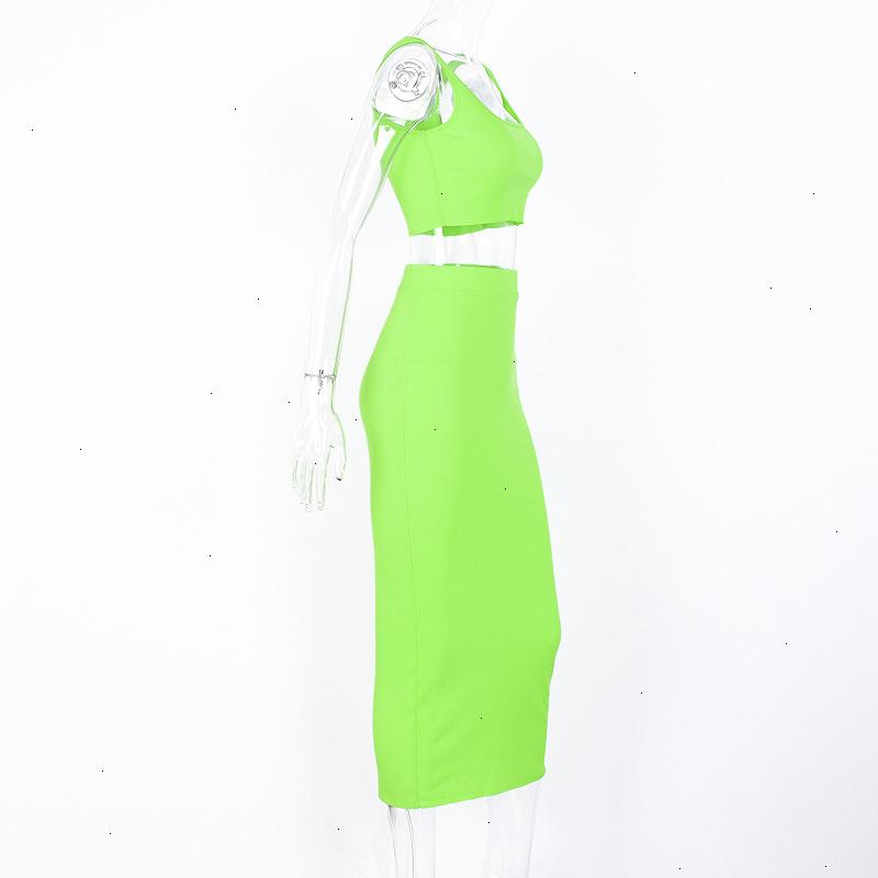 Forefair Two Piece Dress Women Summer Set (12)