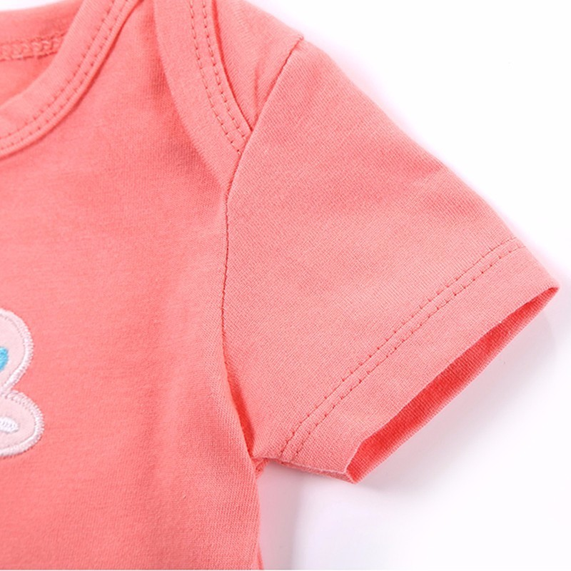 2016 Spring Baby Rompers Boys Girls Jumpsuit 3 PcsLot Body Suits Roupas De Bebe Cotton Overalls Infant Costumes Baby Clothing (7)