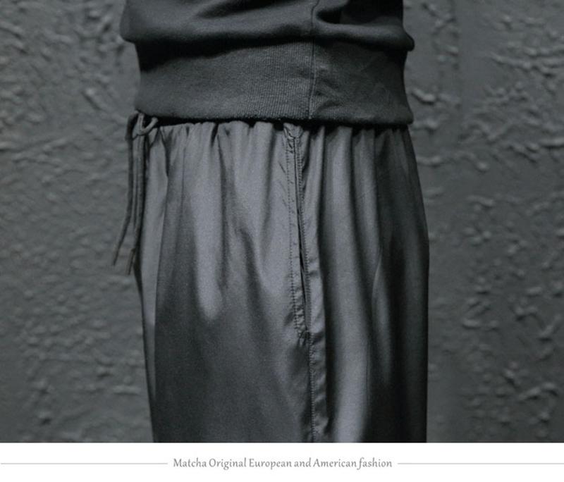 Loose Hip Hop Cargo Pants Men Camouflage Patchwork Harem Mens Trousers Streetwear (24)