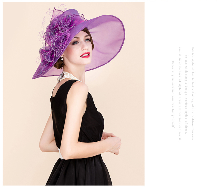 2_organza hats for women