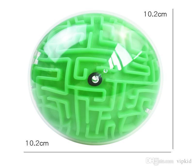 Новый 3D мяч головоломка Лабиринт игрушка ручная игра кейс коробка весело мозг игра вызов непоседа игрушки баланс развивающие игрушки для детей