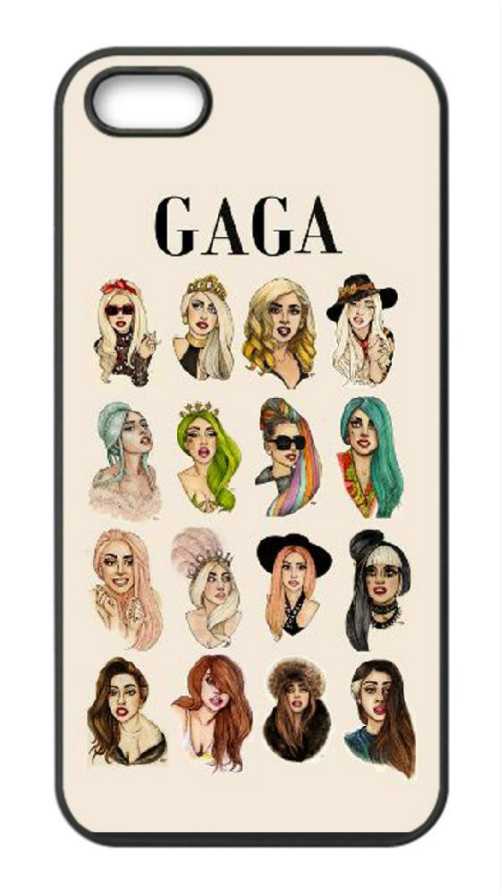 differently 61cb3 e222b Lady Gaga Artpop Illustrations Phone Case For Iphone 5c 5s 6s 6plus 6splus  7 7plus Samsung Galaxy S5 S6 S6ep S7 S7ep Rhinestone Cell Phone Cases ...