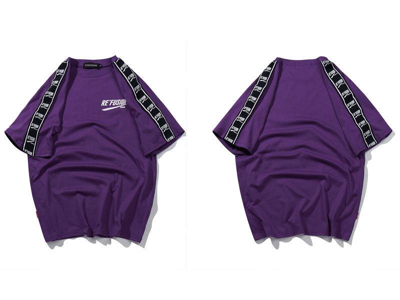 Ribbon Sleeve T-Shirt 7