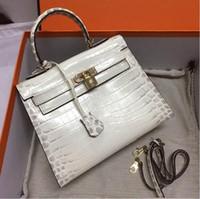 28CM 25CM 2020 Brand Lady Totes bags women Genuine leather A...