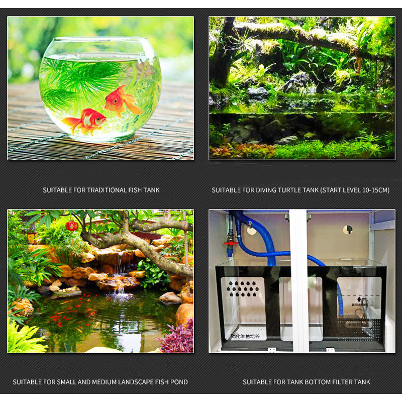 Automatic Aquarium Water Changer Clean Vacuum Water Change Gravel Pump Fish Feces Siphon Sand Washer Filter Fish Tank Cleaner0