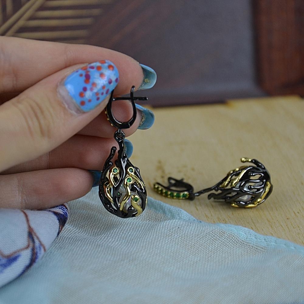 WE3771 pearl earrings women (3)