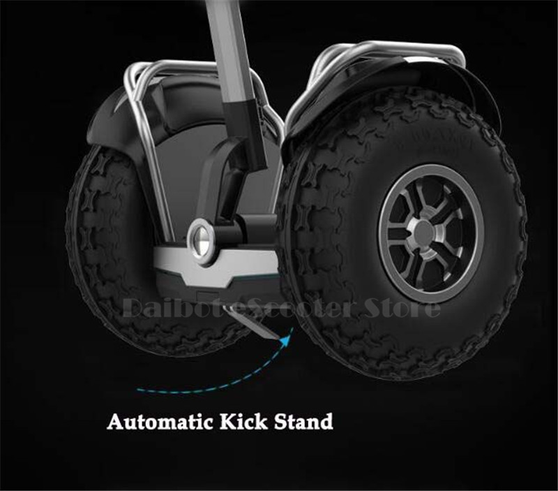 Daibot Off Road Electric Scooter Self Balancing Scooters Double System 1200W2 Adults Skateboard Hoverboard With BluetoothAPP (31)