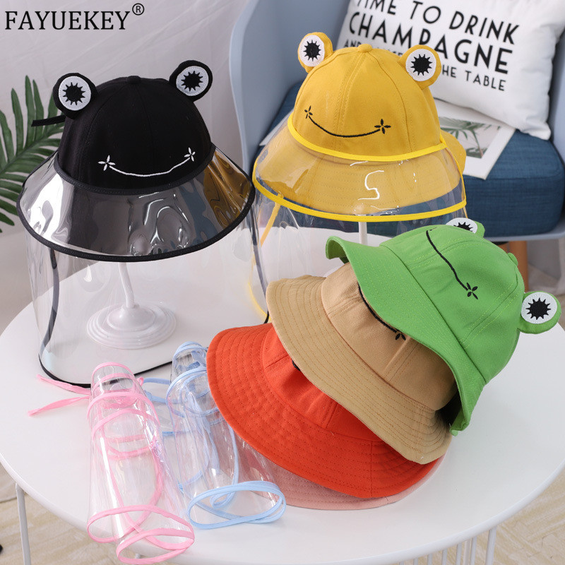 Little Frog Green-Head Adjustable Cap Black Dad Hat Sun Hat Baseball Hat Cap for Kid Boys Girls Hat