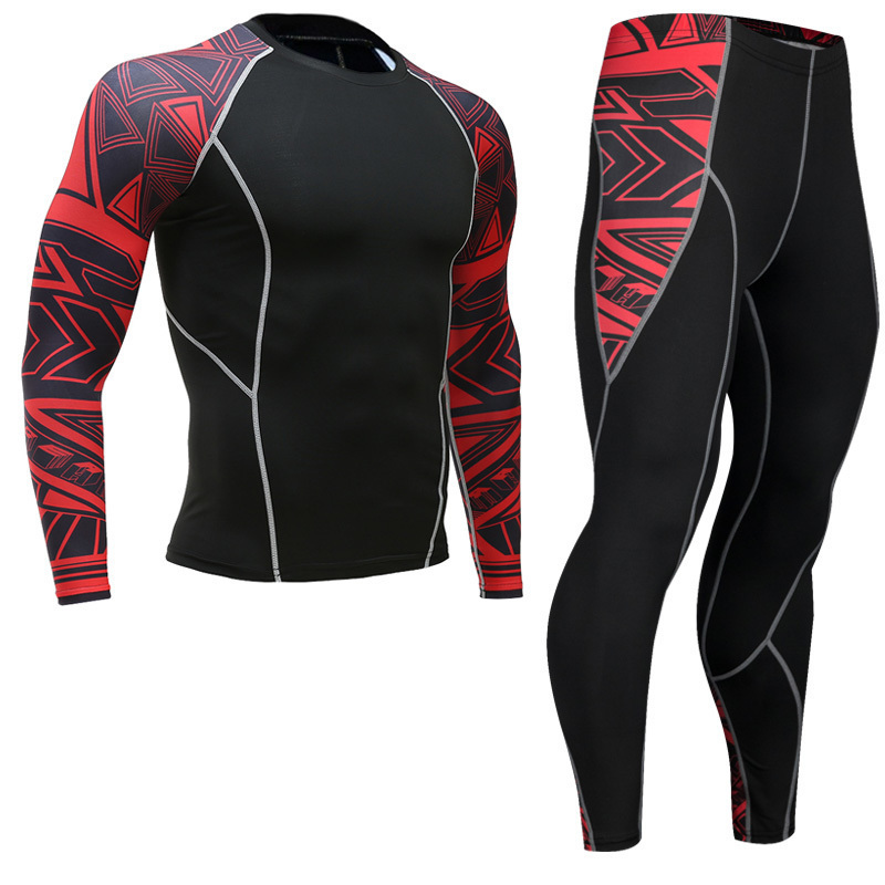 Newest-Fitness-Compression-Sets-Jerseys-Men-3D-Printed-MMA-Crossfit-Muscle-Shirt-Leggings-Base-Layer-Tights (3)