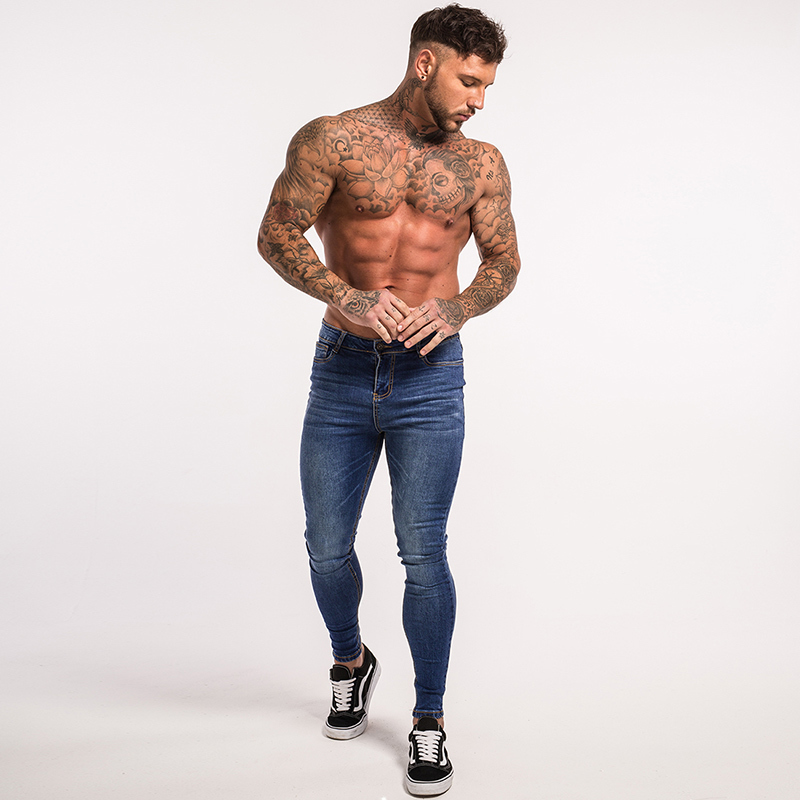 gingtto-mens-skinny-jeans-blue-denim-super-spray-on-street-fashion-zm05-8