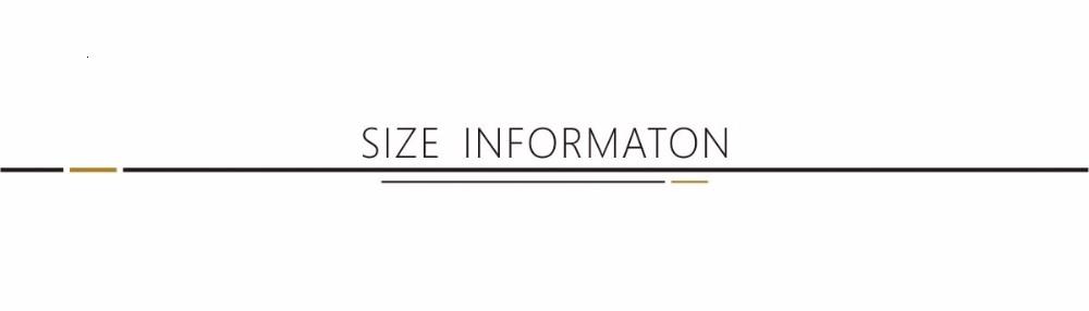 size information