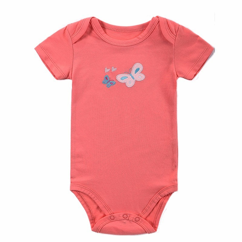 2016 Spring Baby Rompers Boys Girls Jumpsuit 3 PcsLot Body Suits Roupas De Bebe Cotton Overalls Infant Costumes Baby Clothing (4)