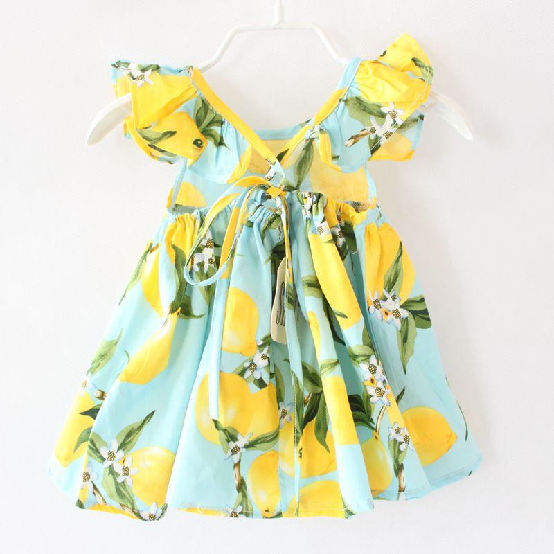 shijcc142 DG new print lemon baby girls backless dress-4