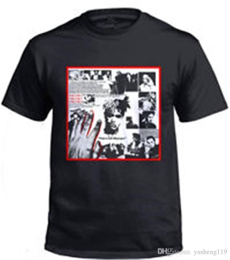 Nouveau col rond t-shirts de mode 2018 hommes court drôle ras du cou xxxtentacion t-shirt