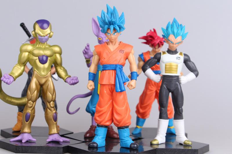 Funko Pop Dragon Ball Z Figures Modello Super Saiyan Broly Vegeta Beerus IN BOX