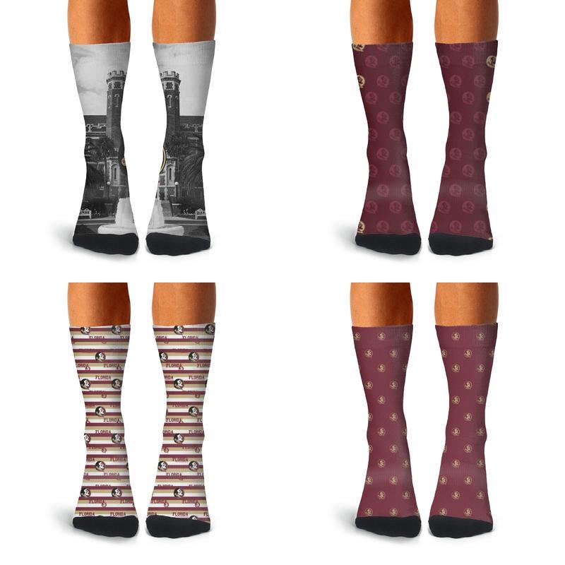 Virginia State Flag Long Tight Thigh High Socks Over The Knee High Boot Stockings Leg Warmers