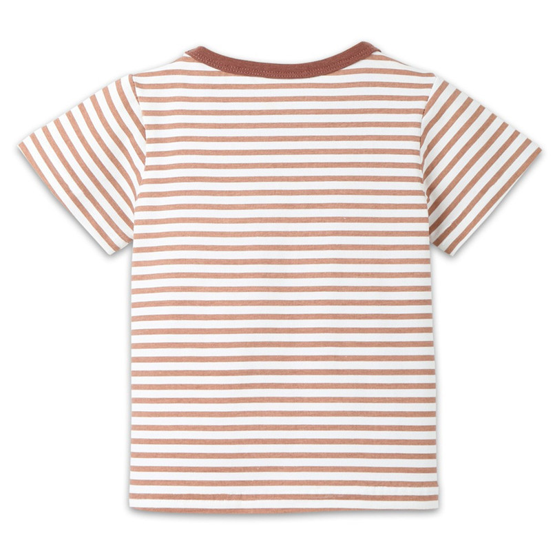 Summer Baby Boy Girl Tops And Tees Children Kids Boy Girl Short Sleeve Striped Top T-shirt Clothes Baby Boy Girl Clothes JE13#F (16)