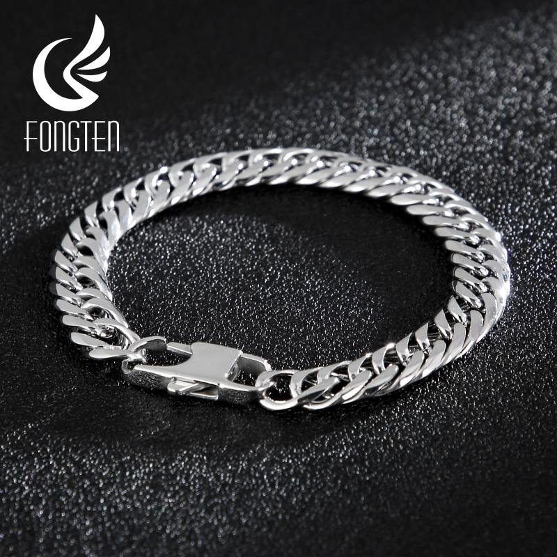 Innovative jewelry 19mm Biker Mens Heavy Chain Necklace Or Bracelet Silver Stainless Steel Curb Link Chain,8-40