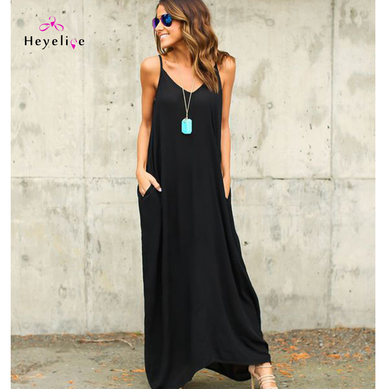 New Solid Beach Cover Up Summer Strap Dresses Bikini vintage Cover-up Holiday Sarong Long Beach Dress Donna Y19071801