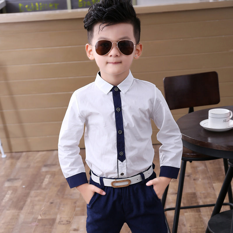 Baby Boys Suits Costume For Autumn Single Breasted Kids Blazers Boy Suit Formal Wedding Wear Cotton Children Clothing Q190604