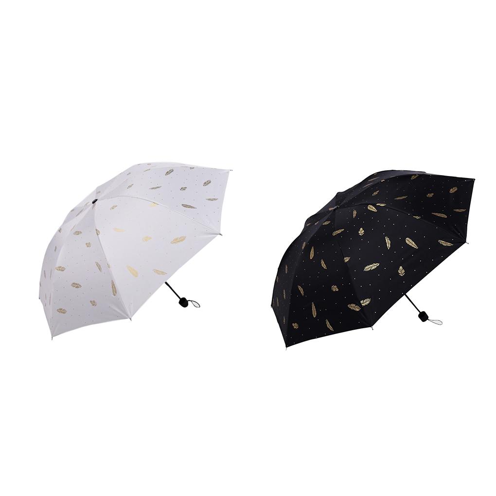 Jian E Sun Umbrella Sun Protection UV Protection Female Folding Umbrella Dual-use Ultralight Color : Purple