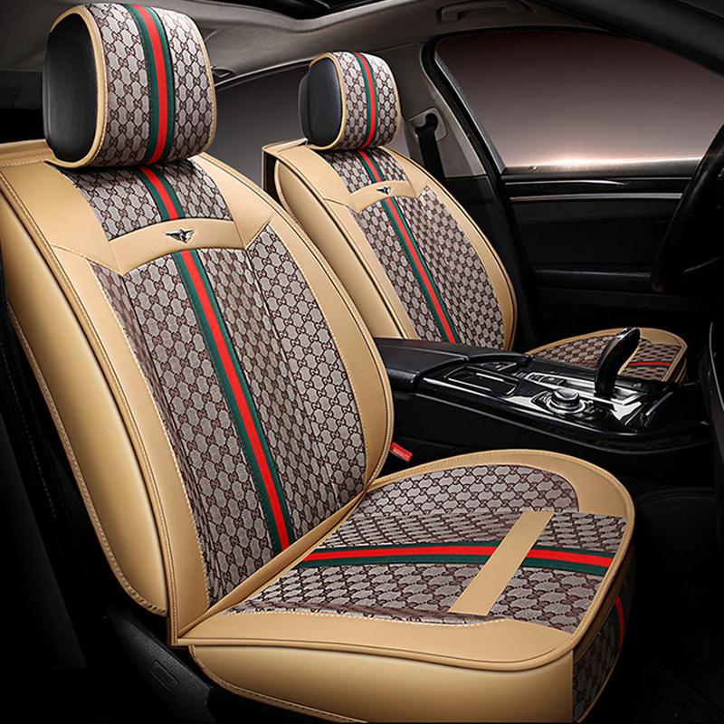 Autositzbezüge Honda Accord Universal Set Rot Sitzbezüge Sitzbezug Autositz PKW