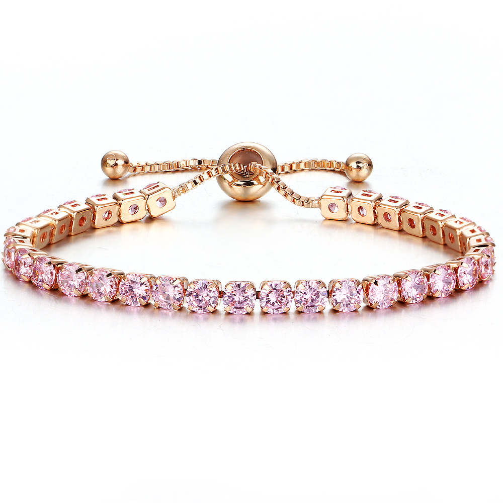 Luxury Designer Jewelry Women Bracelets Lady Gold Bracelet with Crystal Push and Pull Bracelet Manufacturer's Wholesale and Retail