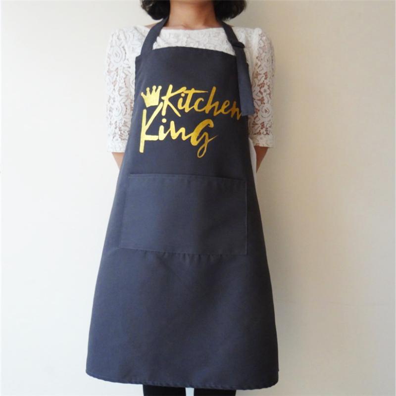 Femmes Floral Muti-Color Anti-huile de cuisson Cuisine Restaurant Tablier Robe à poches