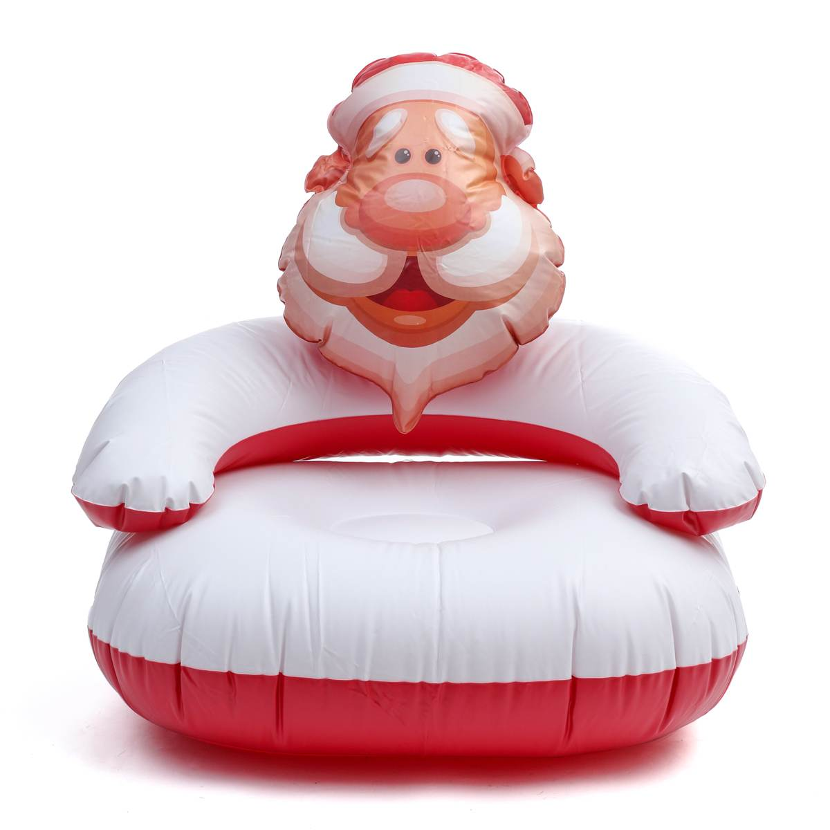 Christmas Decoration Santa Chair Air Sofa Decoration Inflatable Toys Lightweight Children Adult Armrests Indoor/outdoor Lazy