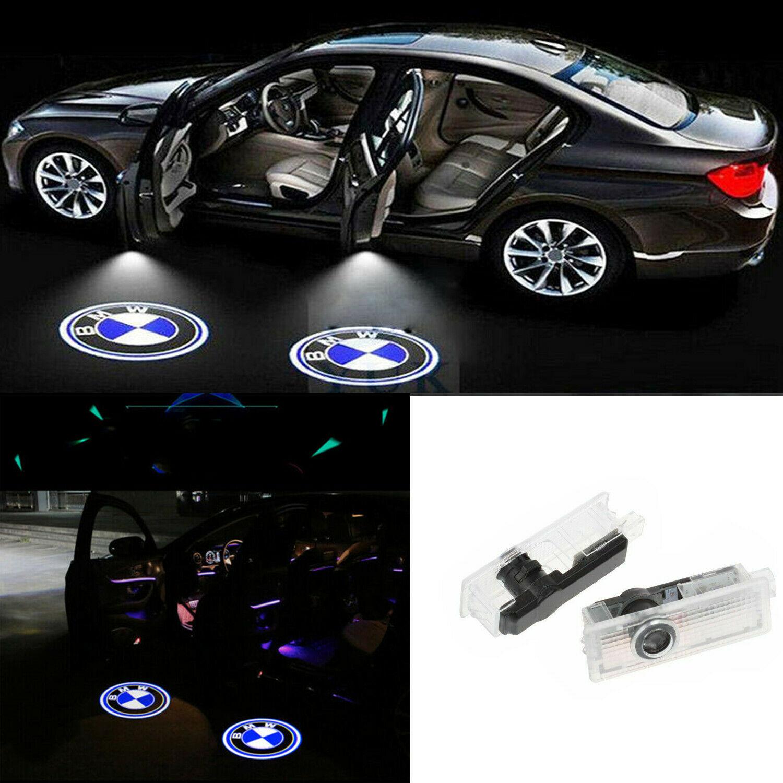7,2 x 2,2 x 2,3 cm Proiettore di illuminazione a LED del Logo BMW DR Speed D1 Confezione da 2 pezzi