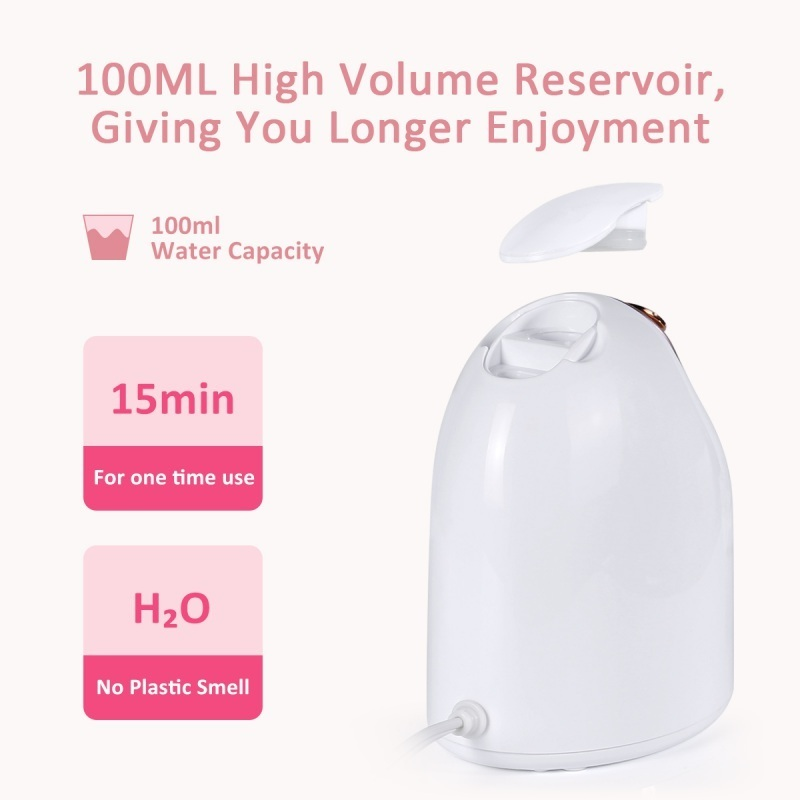 Facial Steamer Mist Sprayer Spa Steaming Machine Beauty Instrument Deep Clean Face Skin Care Tools SH190727
