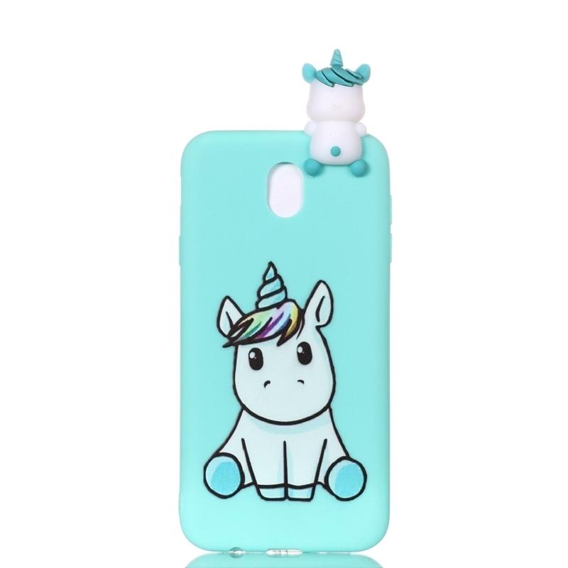 Coque for Samsung Galaxy J5 Phone Case 3D Unicorn Panda Dog Silicone Case Cover on sFor Samsung J5 J3 J7 EU Case Women