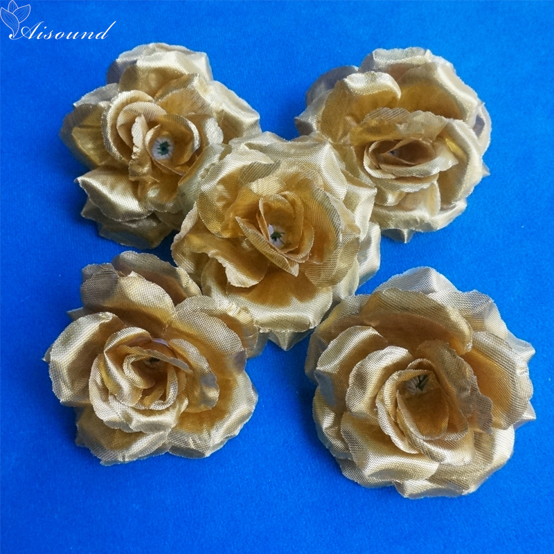 Silver flowers for party