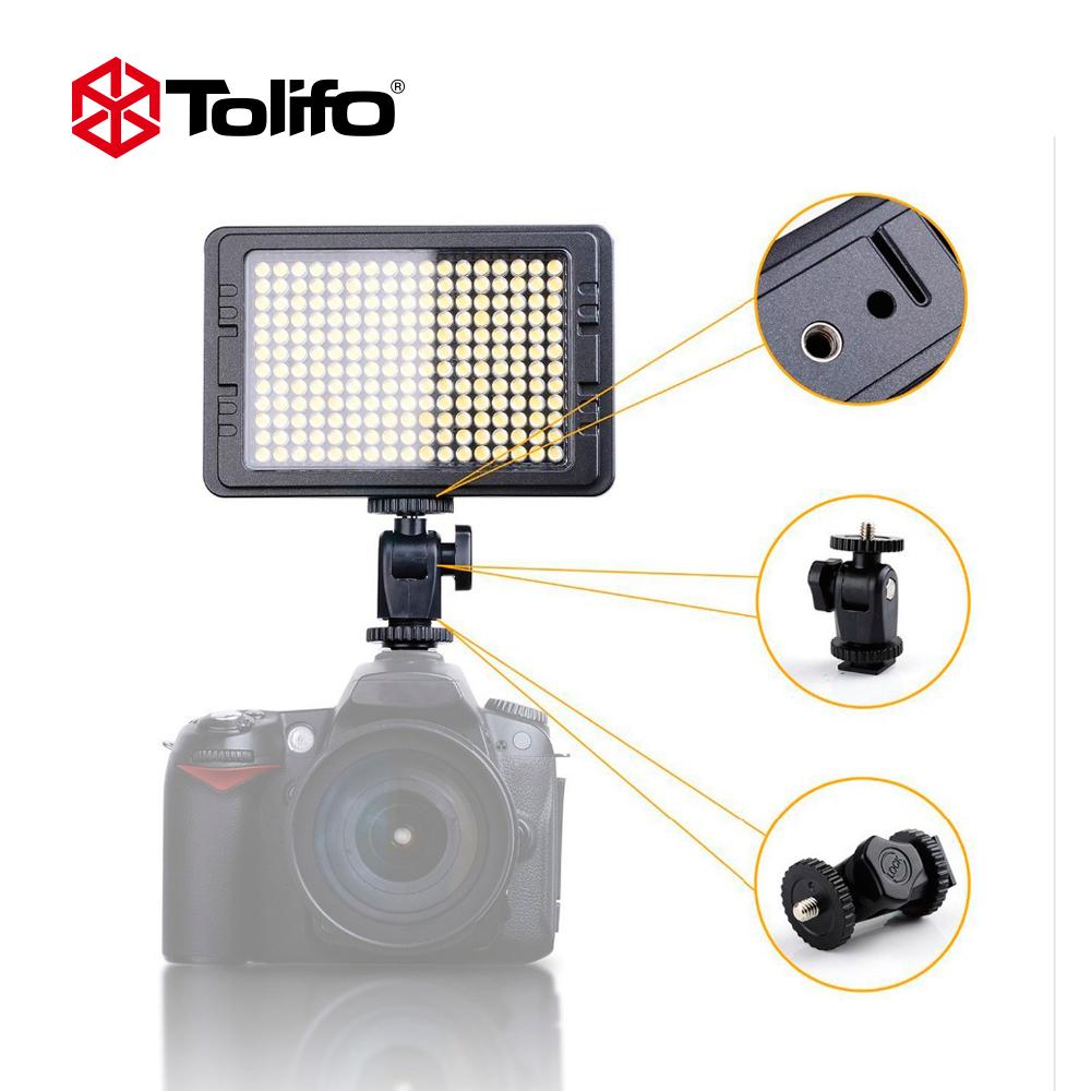 WanSen W300 LED Luz de Vídeo Lámpara Videocámara Cámara para Canon Nikon DV 6000K//3200K
