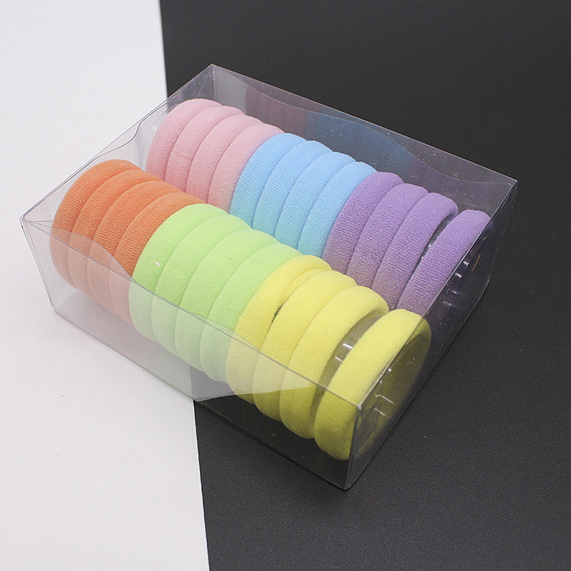 Elastic Hair Band Ponytail Holders Rubber Bands Hair Accessories For Girl Women Headband Hair Ties Gum Hairband Headwear