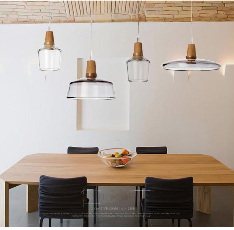Compre Lámpara Colgante Moderna De La Luz LED Colgante Para La Lámpara De  Techo De Cristal Del Comedor Que Cuelga Los Accesorios De La Cocina A ...