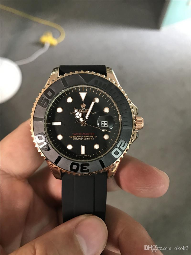 331bede6a5f Top Swiss Marca Oysterflex pulseira Mens Relógios Montre Homme de Luxo  Relógio de Quartzo Homens Todos ...