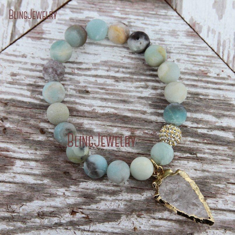 20181201-BM17426-Latest Arrowhead Clear Crystal Bracelet On Sale_22