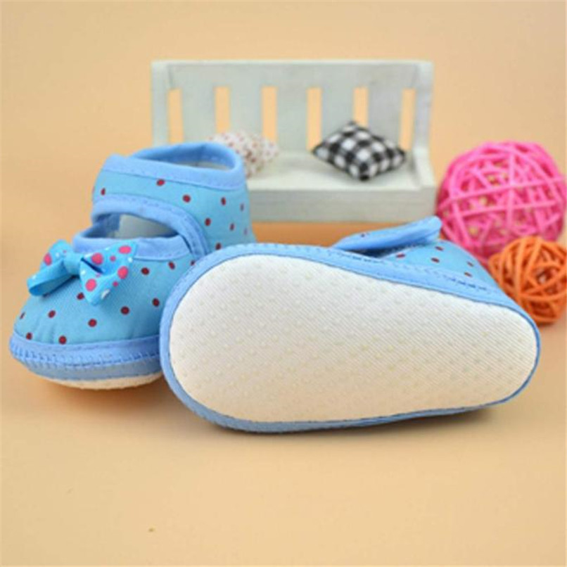 Fashion Baby Girl First Walker Kids Bowknot Boots Soft Crib Shoes NDA84L16 (7)