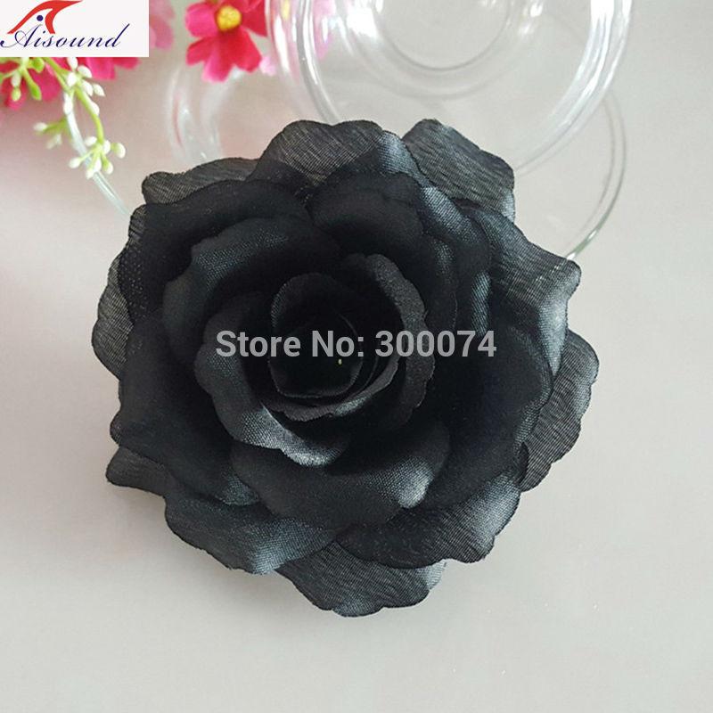 Black flowers for event decoration