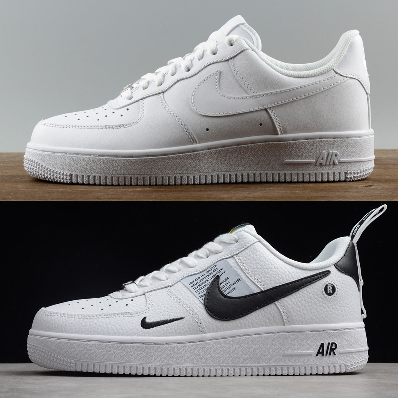 Wholesale Cheap Men's Nike Air Force One Low Leather QS