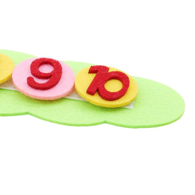 Montessori Math Toys Children Game Color Sorting Teaching Kindergarten Manual