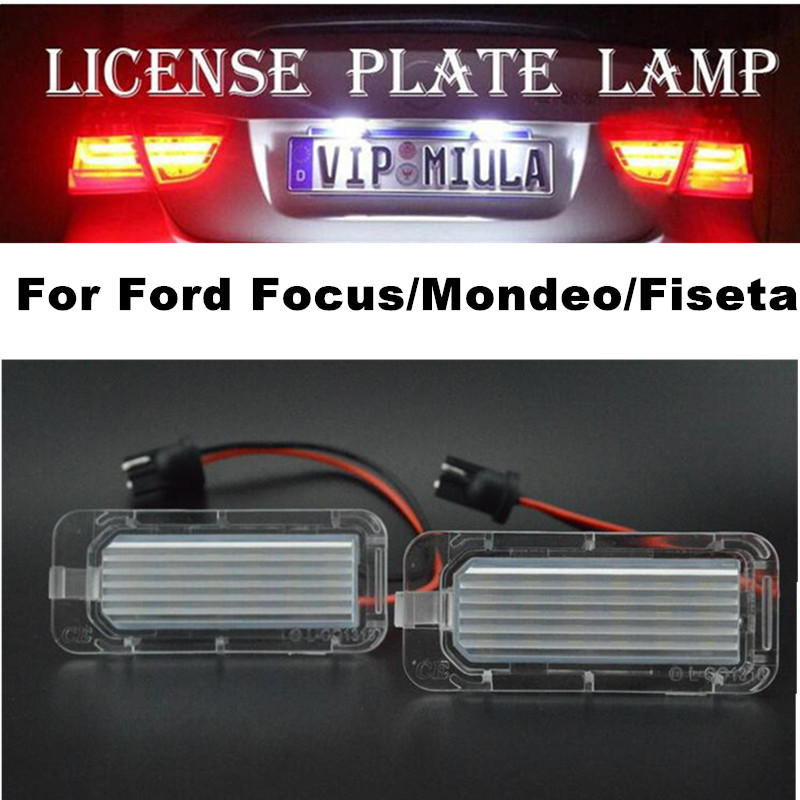 2x LED cree Projector BUMPER DRIVING FOG LIGHT FOR Ford FIESTA EXPLORER FUSION