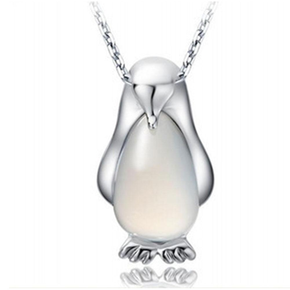 findout sterling silver Penguin opal cat eyes earrings