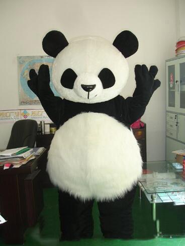 2018 Discount factory sale Classic panda mascot costume bear mascot costume giant panda mascot costume