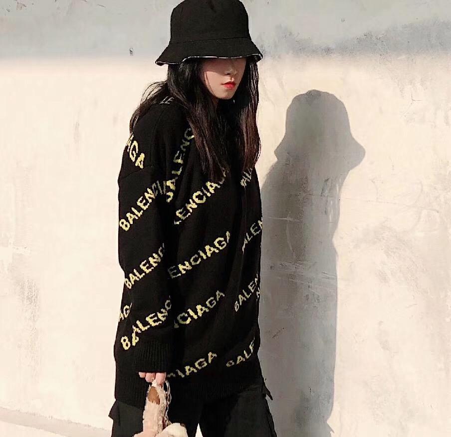 2020 Nouveau design de mode hommes et les femmes Woollen Chandails meilleure qualité et exquis impression Chandails Hot vente