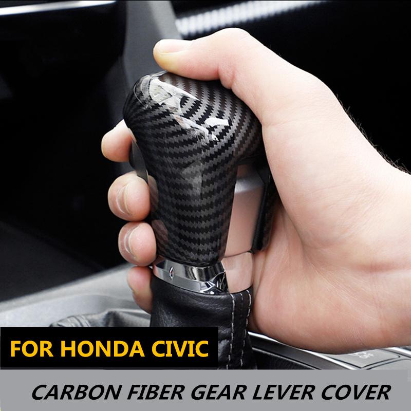 Copertura per freno a mano copertura con look stile carbonio.