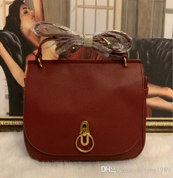 REGNO Unito di lusso donne ragazze party bag leather borsa a tracolla grande Borsa a tracolla Tote Handbag